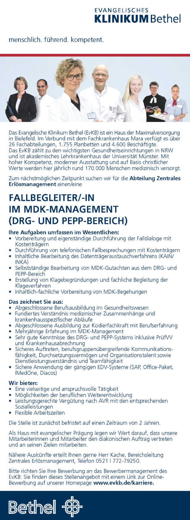 Kodierfachkraft & Medizincontroller 2018 - Krankenhaus-Stellenmarkt ...