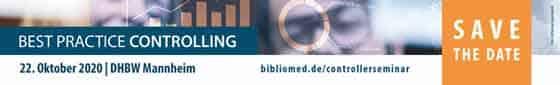 Anzeige: Bibliomed Verlag und Deutscher Verein für Krankenhaus-Controlling (DVKC)